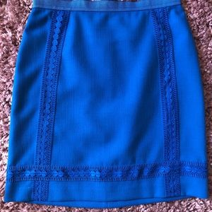 New With Tags Ann Taylor 4P lined skirt blue